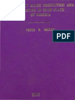 Economics of Maize Production and Marketing in Ondo State of Nigeria Peter b.i 1992