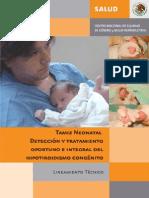 Tamiz Neonatal Lineamiento 2007