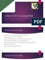 Creativity Committee