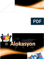 alokasyon