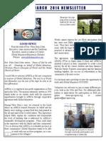 March APECA Newsletter 2014