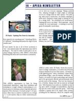 May APECA Newsletter 2014