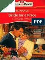 142563060 Bride for a Price by Stephanie Howard
