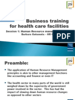 Business Training HRM