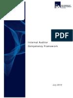 Internal Audit Competency Framework