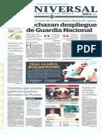 GradoCeroPress-Jueves 24 Julio 2014 Portadas Medios Nacionales.