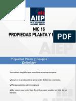 Presentacion Ppe Nº 2 Activo Fijo Nc16 Aeip