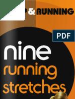 Nine running stretches