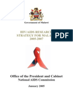 Hiv-Aids Research Strategy