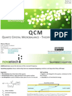 QCM Theory and Modelling