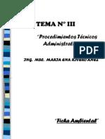 Tema 3 Procedimientos Técnicos Adminsitrativos(CAPIA)