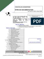 News-site Acad. Fev. 2009-Mai 2009_livres