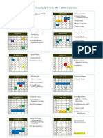 FY BOE 2014-2015 Calendar