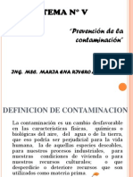 Tema 5 Prevención de La Contamianción(CAPIA)