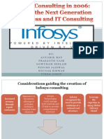 Infosys Consulting in 2006