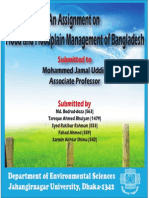 Flood and Floodplain Management of Bangladesh