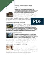 Patrimonios de la humanidad en el Perú.docx
