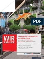 Autoren Guide Frankfurter Buchmesse