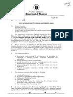 DepED Memorandum No.9 s.2014