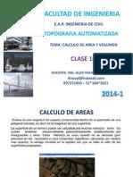Topo Automatizada C10 Cálculo de Area y Volumen