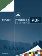 Mars 'Principles in Action' Highlights 2013 en Report