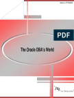 01 the Oracle DBAs World