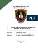Trabajo de Administracion General Mayor Pnp Juan Auccahuaqui