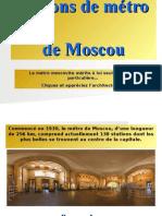 Metrô - Moscou