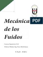 Mecánica de Los Fluidos-Teoría - Ing Drelichman