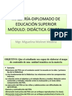 Diplomado de Educación Superior Torno