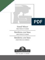 KitchenAid Mixer Manual