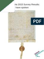 Magna Carta 2015 Survey Results
