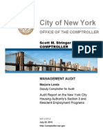 NYCHA Audit