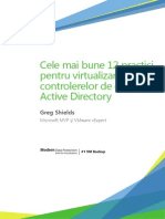 Wp Top12best Practices for Virtualizing Active Directory Domain Controllers Greg Shields Ro