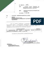 Proyecto Fondo Programa de Mejoramiento Urbano - Financiamiento Infraestructura Escolar (PMU-FIE)