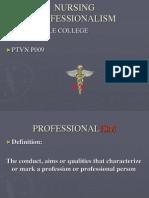 Nursing Professionalism