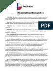 Mark Reid's Ending Illegal Immigration Resolution