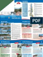 KD Fahrplan 2014 In