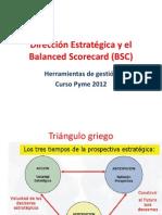 Direccion Estrategica y Bsc