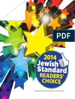 North Jersey Jewish Standard's 2014 Readers' Choice