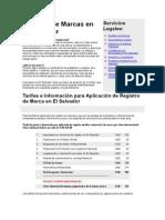 Registro de Marcas en El Salvador