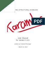 Karamba_1_0_5_Manual