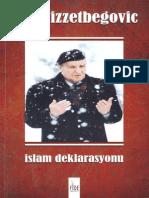 Aliya+İzzetbegoviç+-+İslam+Deklarasyonu