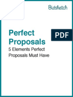Five Elements of a Perfect Proposal