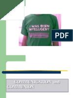 Communication - Communion II