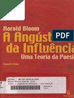 Angustia Da Influencia Harold Bloom