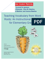 Teaching Vocabulary From Word Roots_An Instructional Routine for Elementary Grades