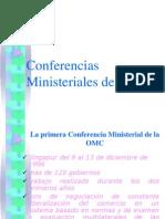 Conferencias Ministeriales de La OMC Semana3