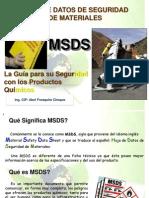 CAPACITACION MSDS-TRANSPORTES
