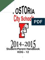 2014-2015 Student/Parent Handbook